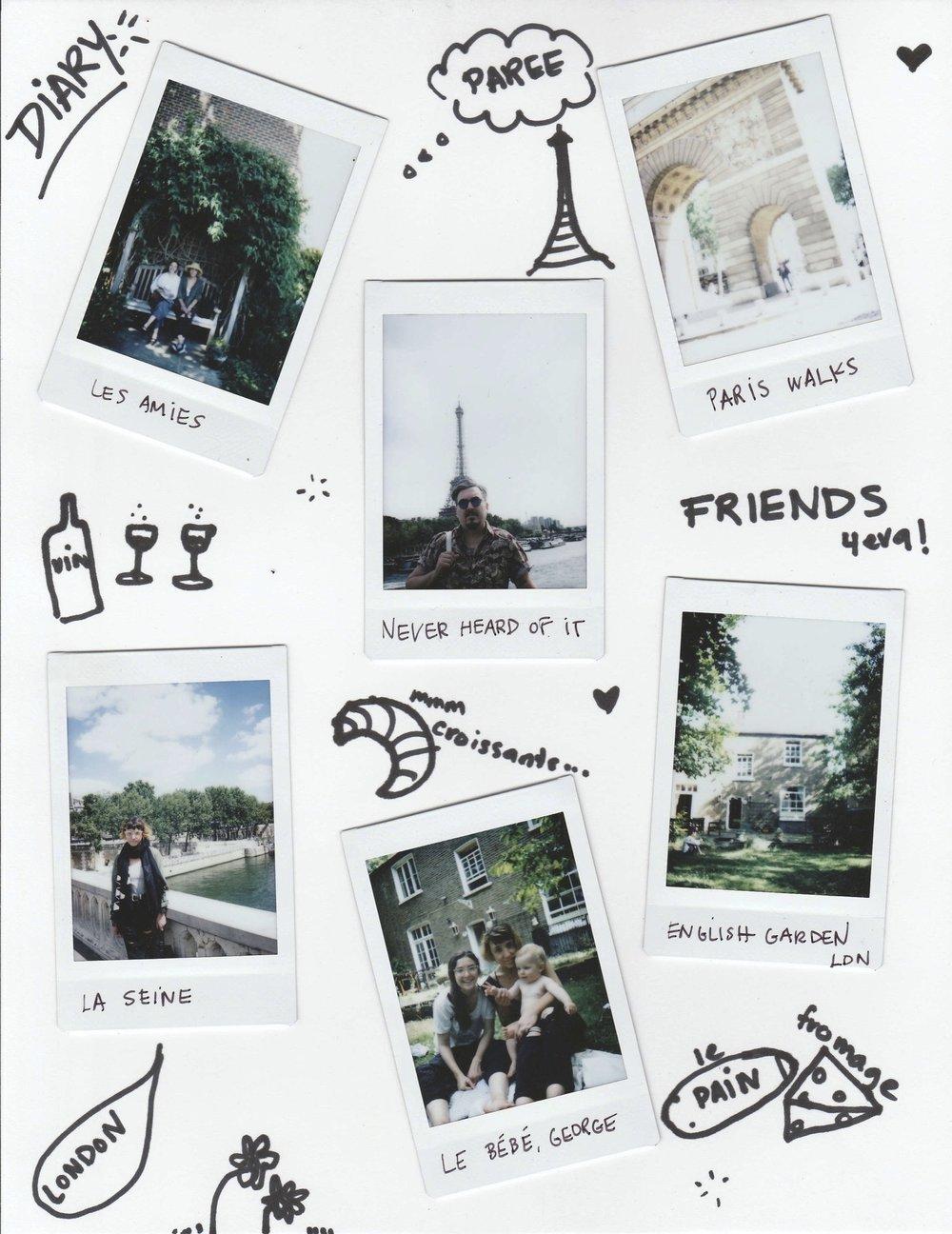 Dear Diary European Vacation