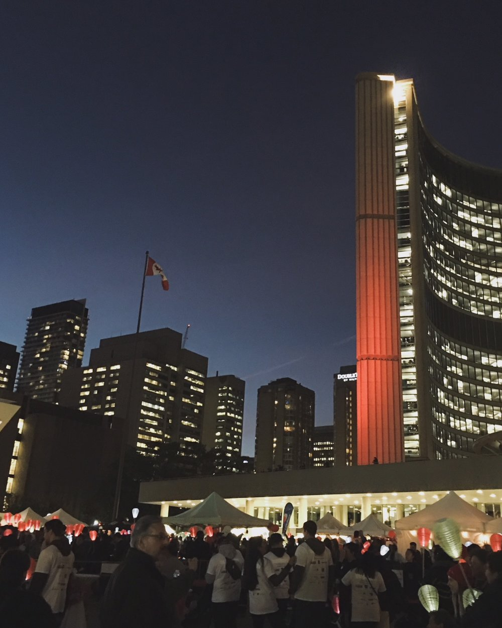 Nathan Phillips Square in Toronto.
