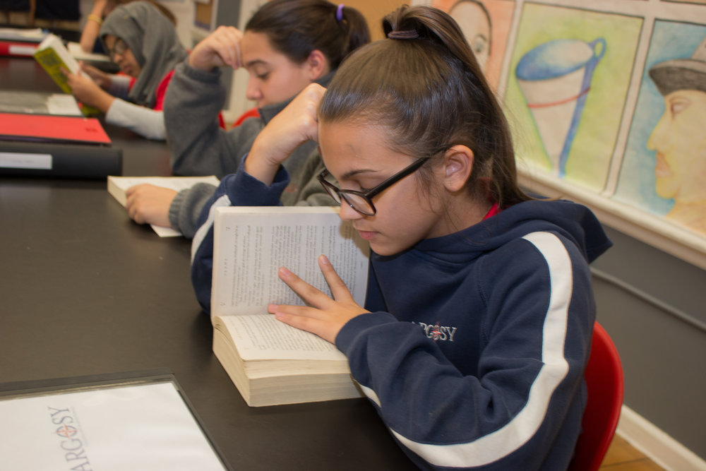 At Argosy Collegiate Charter School   Scholars show growth in reading and numeracy skills    Learn more