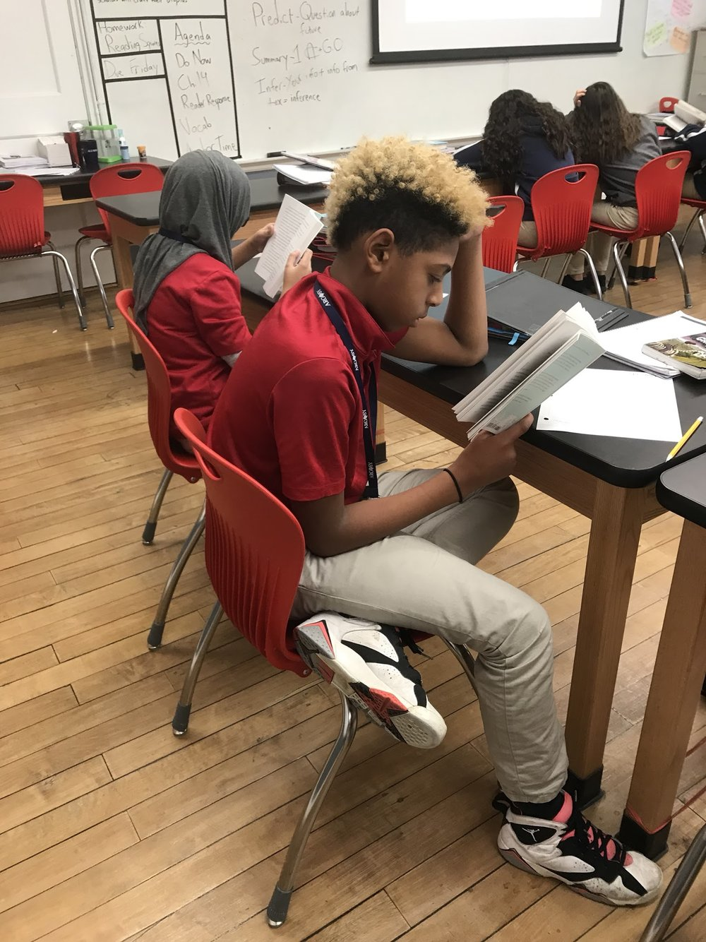 At Argosy Collegiate Charter School   scholars work hard 100% of the time.    Learn more