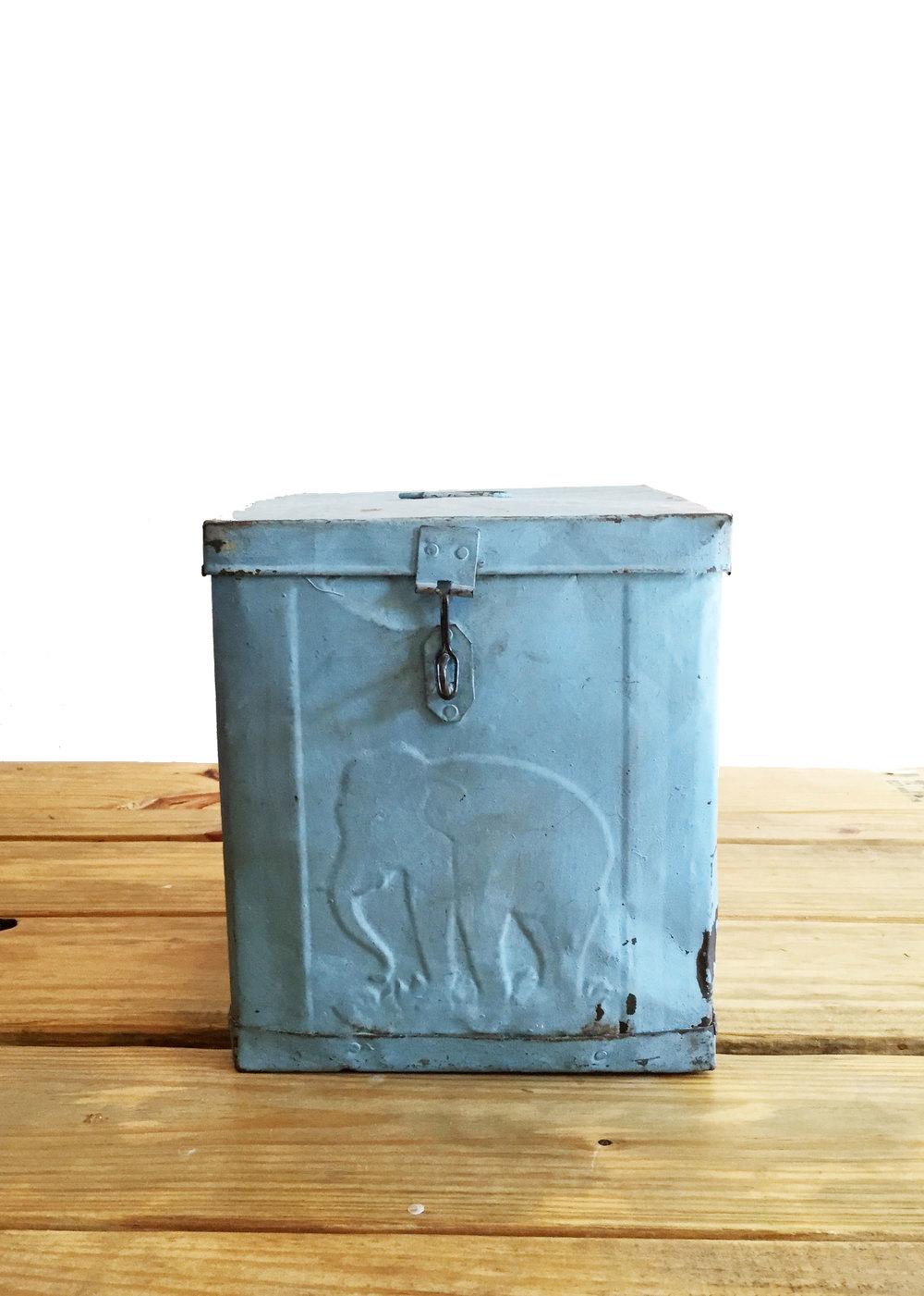Vintage Blue Box