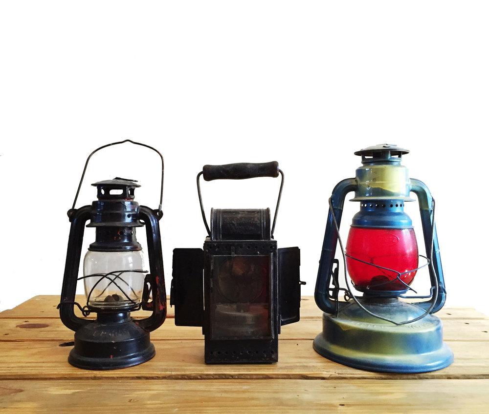 Vintage Lantern Set