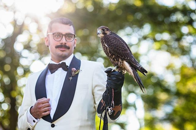 And @ahernandezart was the most bad ass groom of all time #landoflovebirds