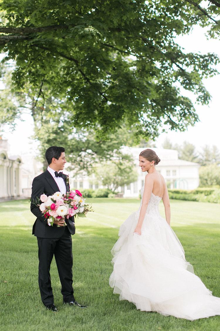Greenwich Connecticut bride and groom bridal bouquet.jpg