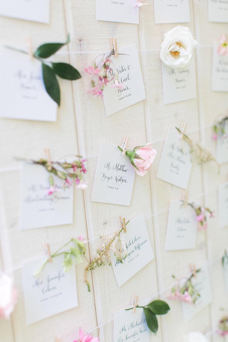 Greenwich Connecticut wedding escort display floral pink white.jpg