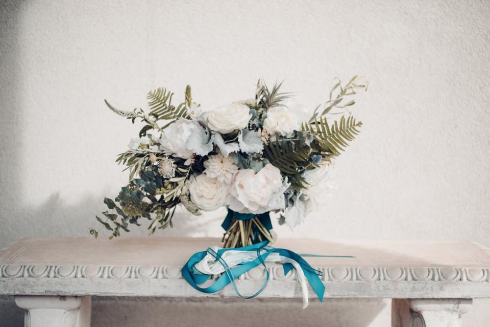 Woodstock Connecticut wedding bouquet peonies blush blue navy garden roses ferns.png