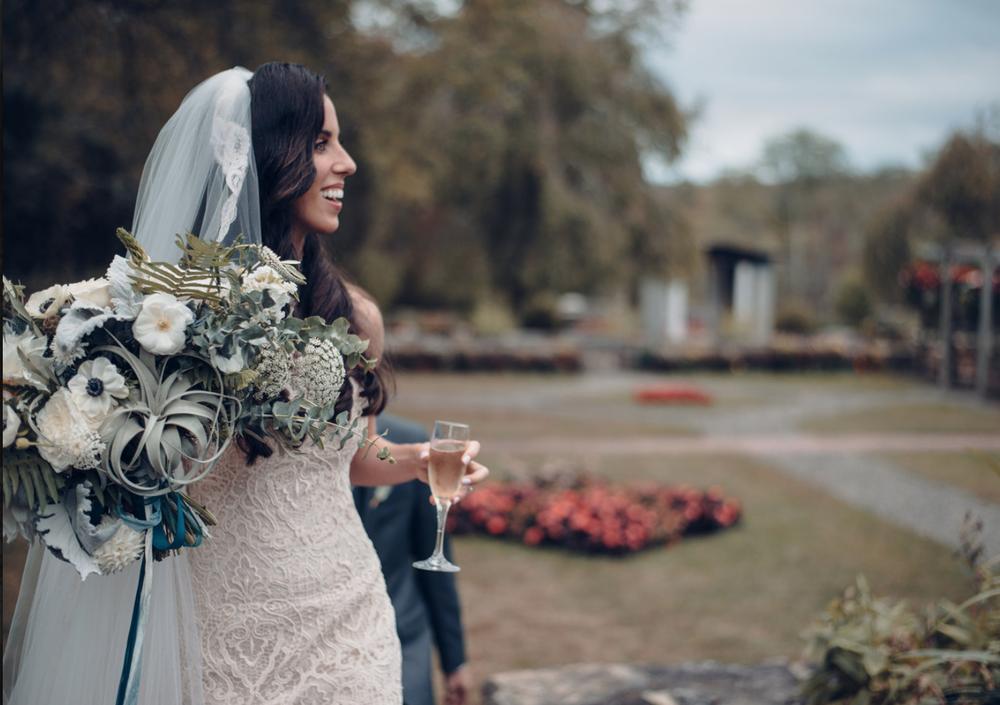 Woodstock Connecticut wedding bride bridal bouquet green blue white roses anenomes dahlias.png