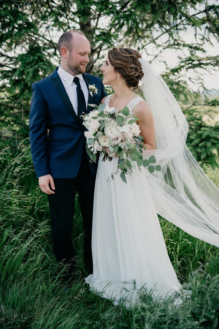 Golf Club boston wedding bridal bouquet white blush greens boutonniere.jpg