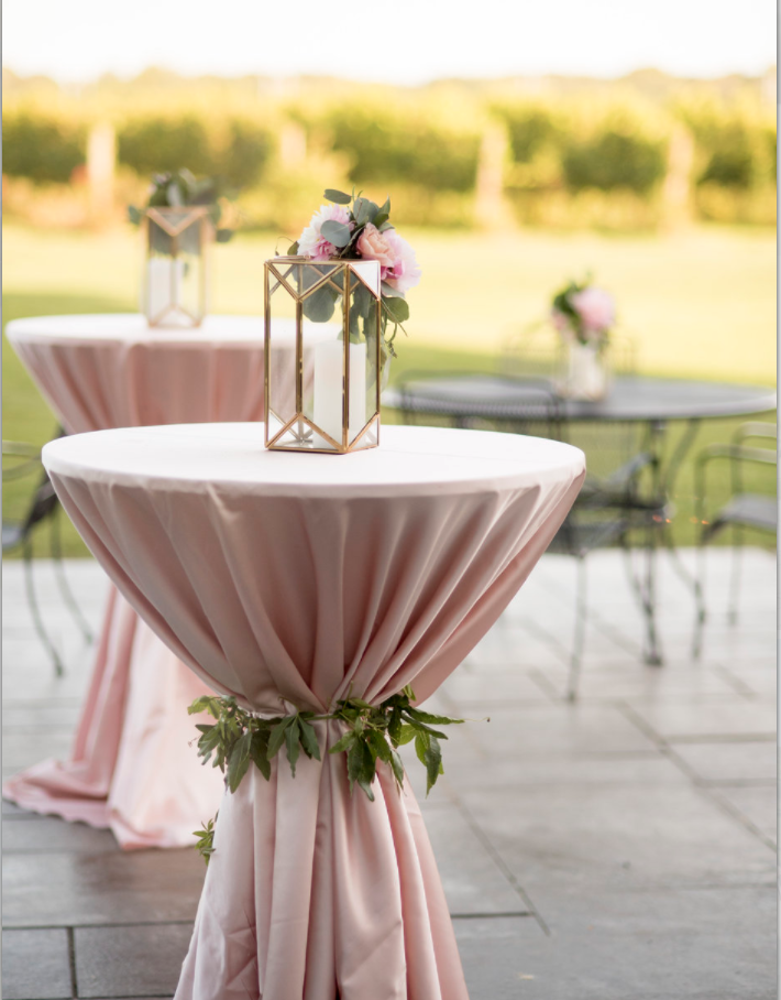 Saltwater Farm Vineyard wedding cocktail tables pink lanterns.png