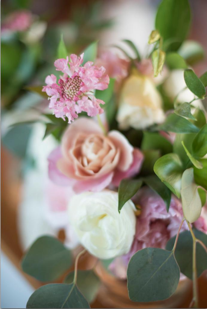 Saltwater Farm Vineyard wedding scabiosa pink white bouquet detail.png