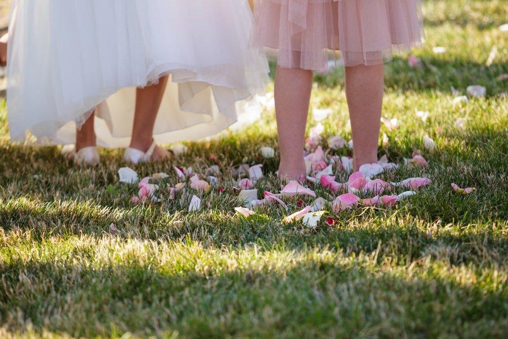 Preston Ridge Vineyard wedding flower girls flower petals.jpg