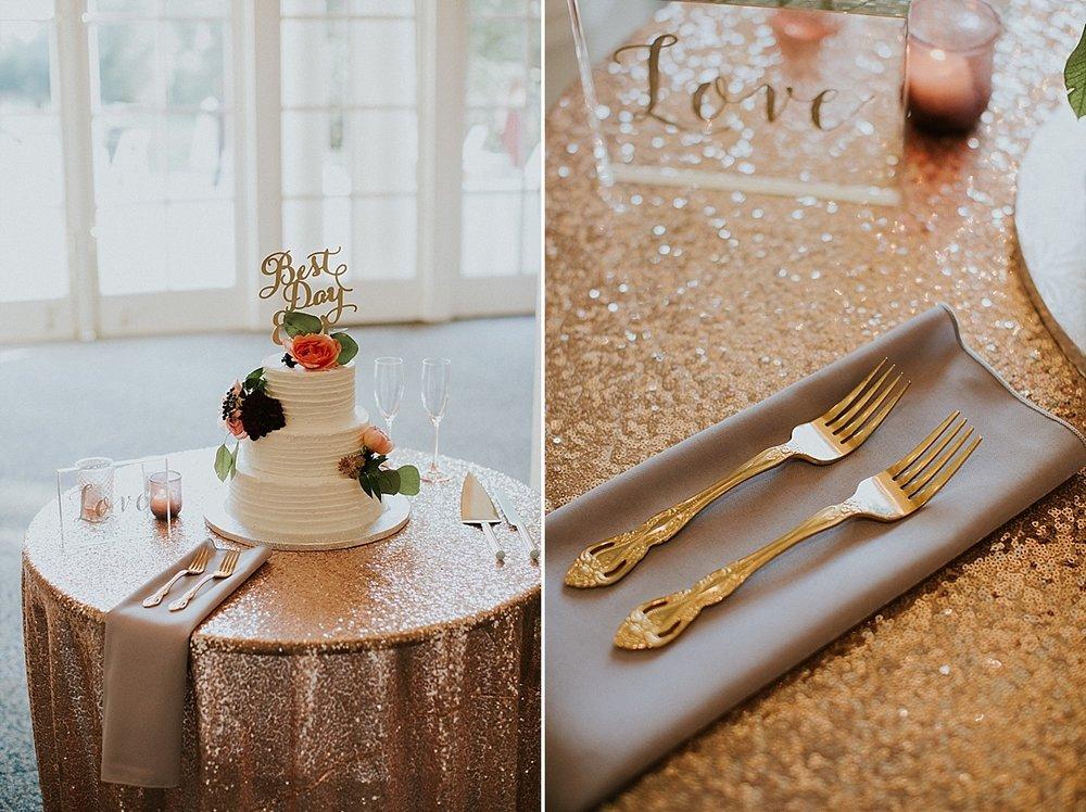 Wadsworth Mansion wedding reception cake floral gold maroon coral.jpg