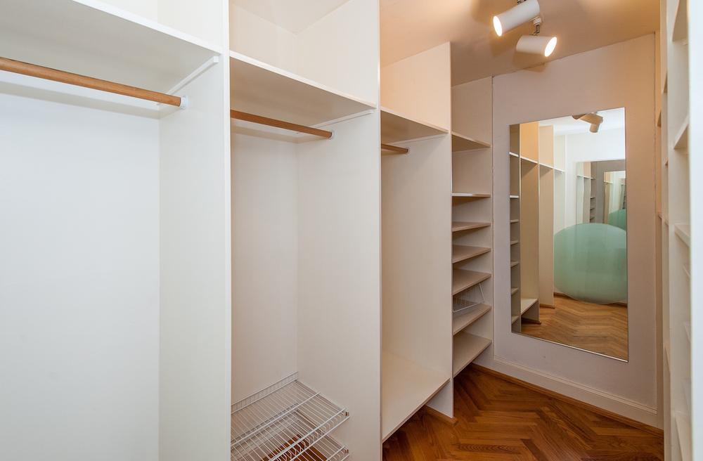 Master Bedroom One Closet