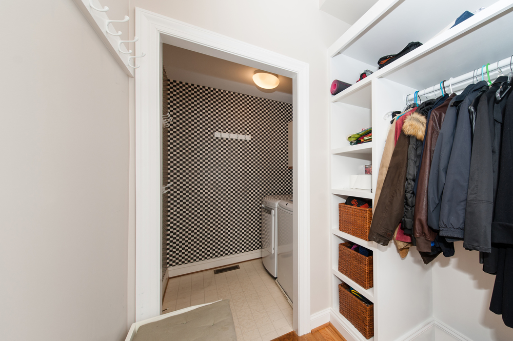 Main Level Mudroom with Laundry