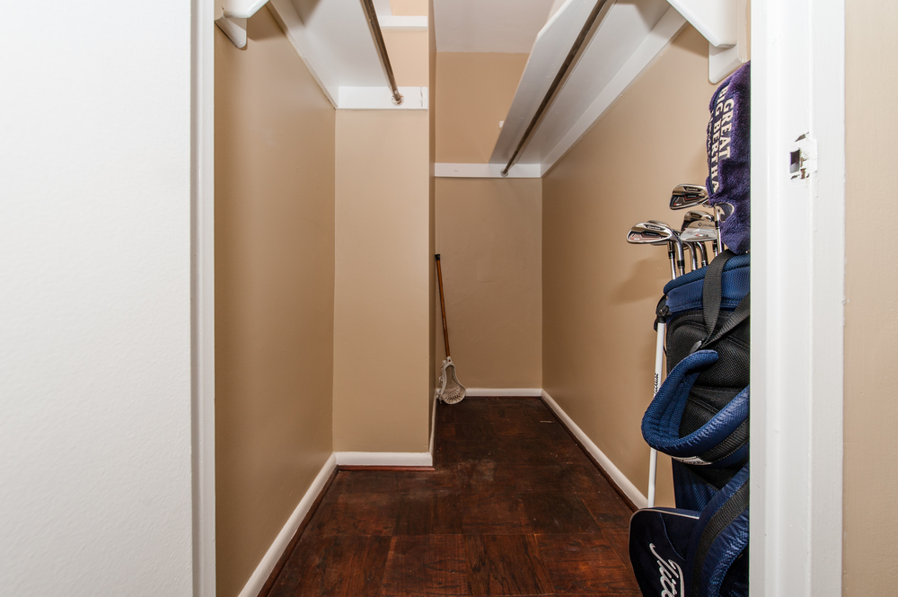 Extraordinary Walk-in Storage Closet