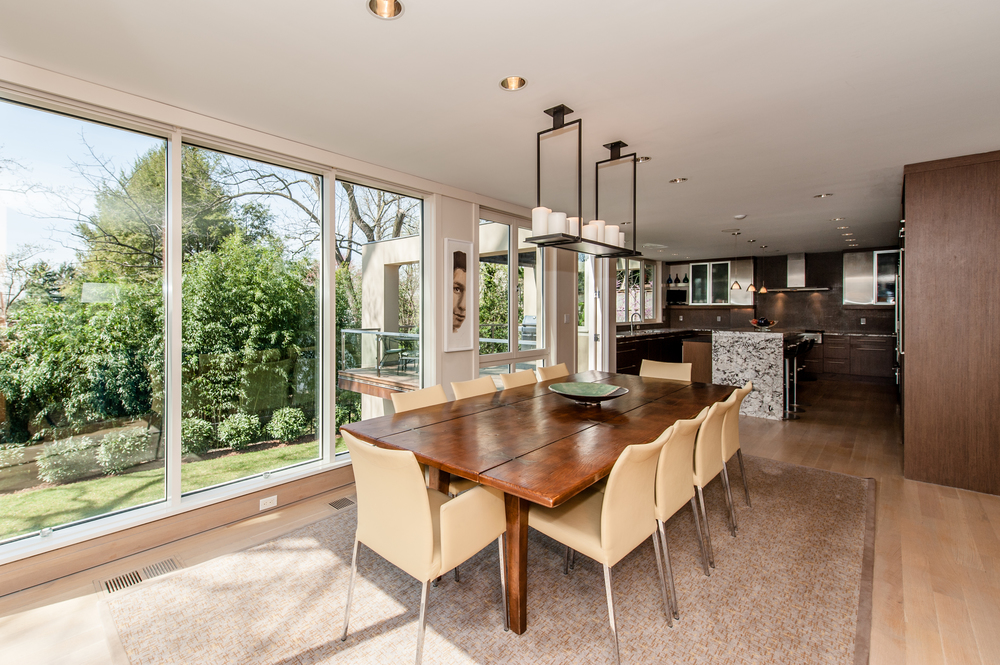 Informal Dining Area with View to the Kitchen