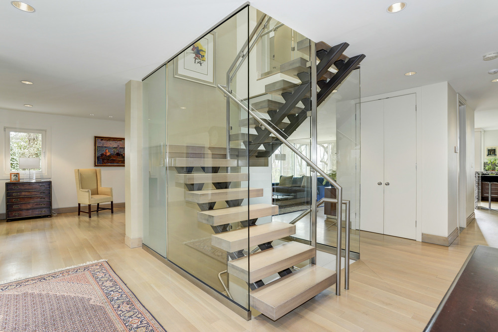 Olvia Demetriou Designed Glass Staircase
