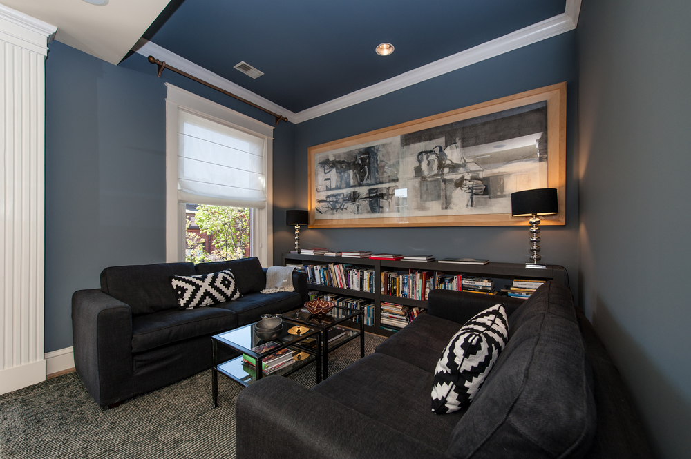 Family Room with Integrated Media