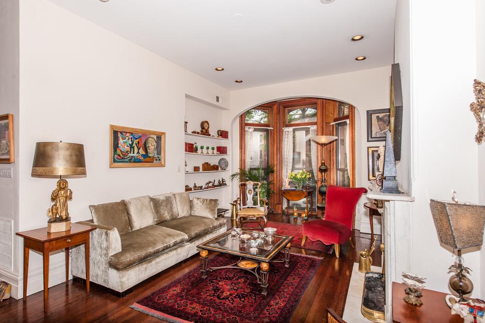 Living Room Overlooks Front Gardens
