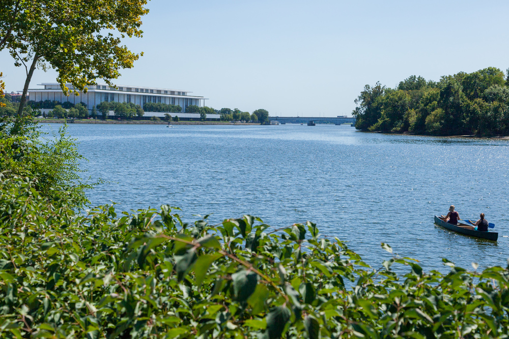 Potomac River & Kennedy Center