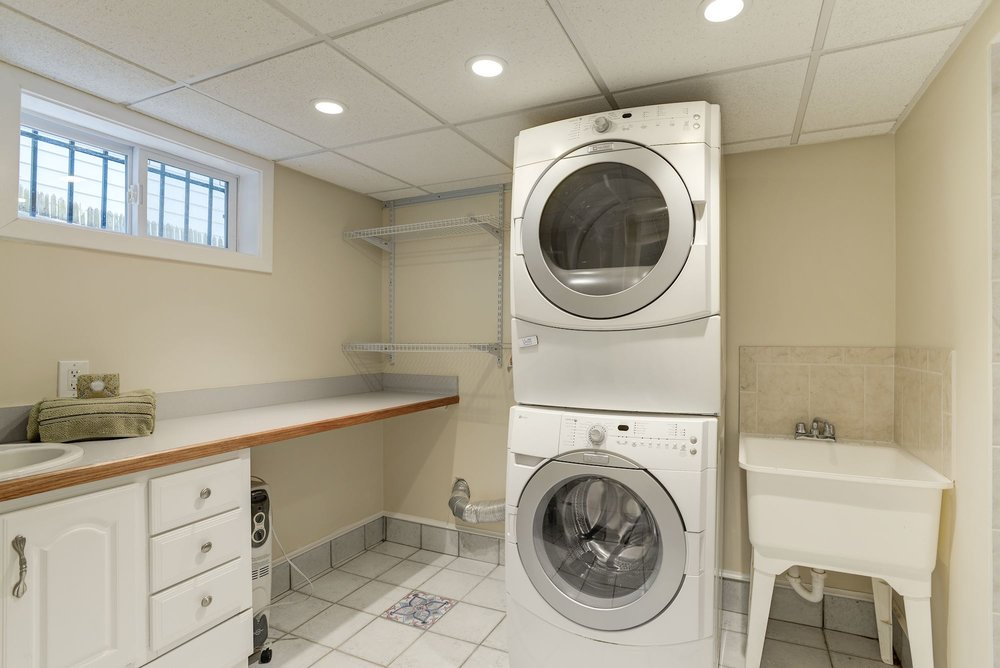 Laundry Room and Full Bathroom