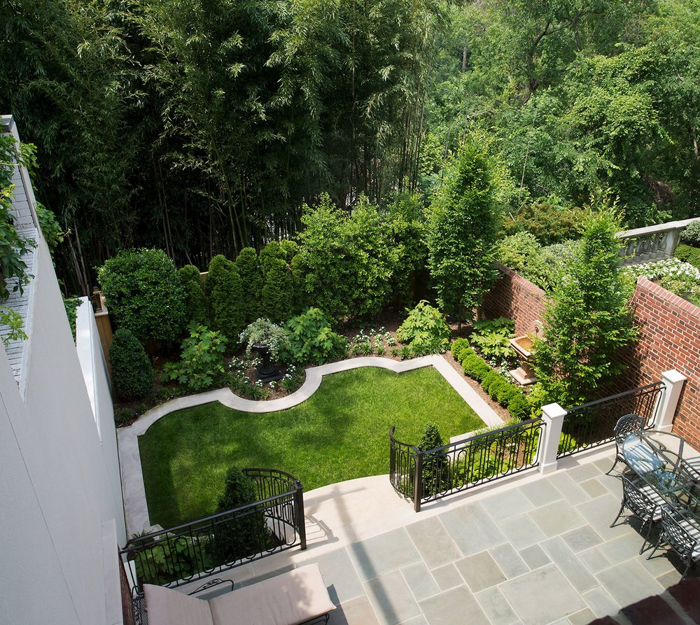 Terrace and Landscaped Garden