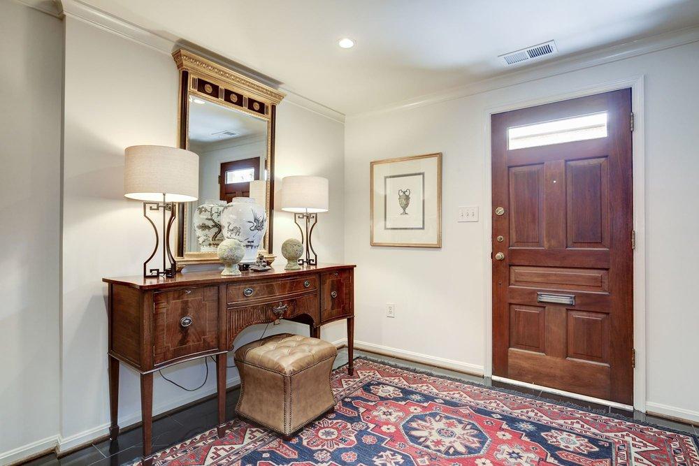 Generous Foyer