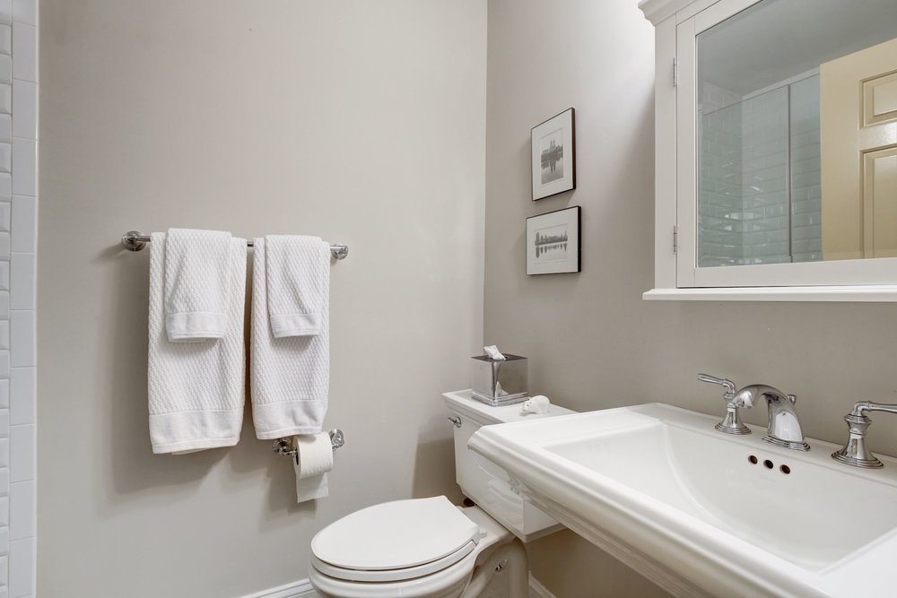 20. Renovated Full Bathroom with Shower