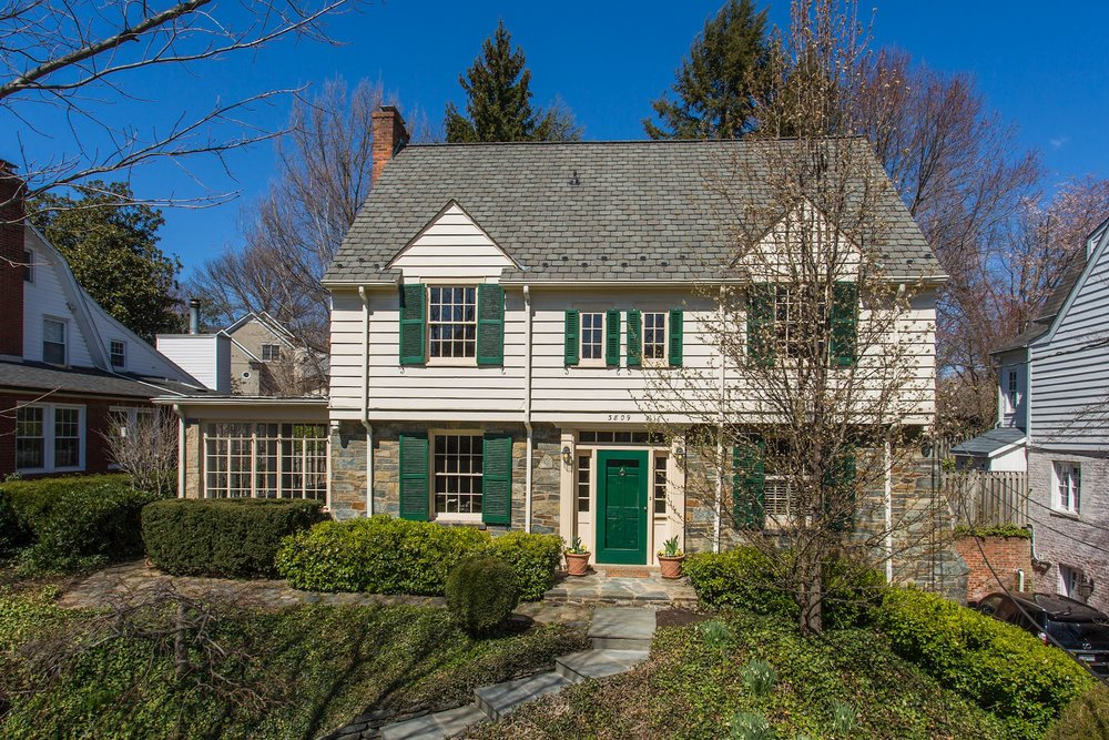 Enchanting Chevy Chase Stone Cottage