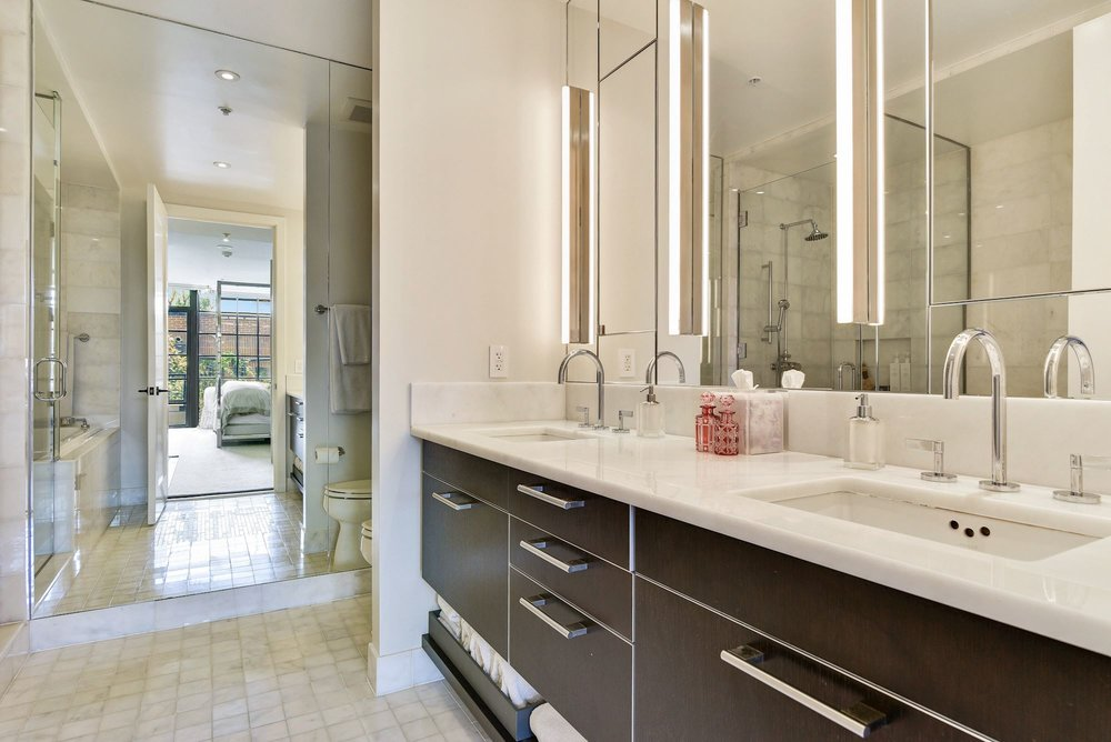 Master Bath with Waterworks Fixtures