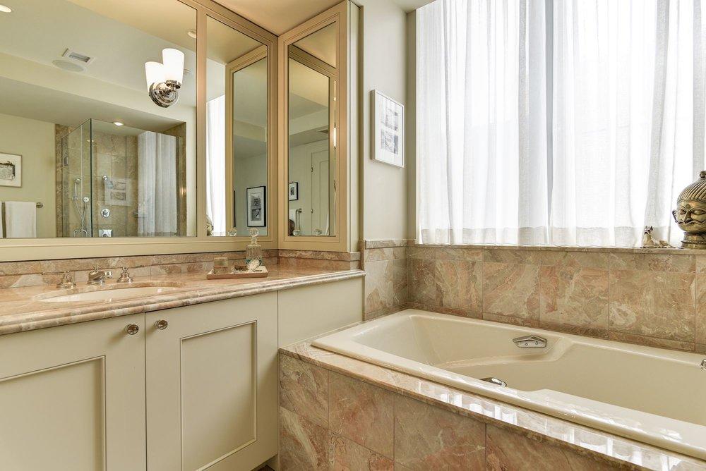 Master Bathroom 1 with Soaking Tub