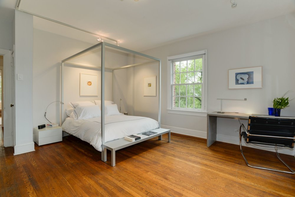 Spacious Master Bedroom with Custom Closet