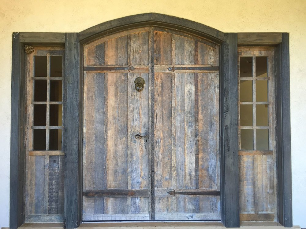 Rustic Entry Leads to Renovated Interiors