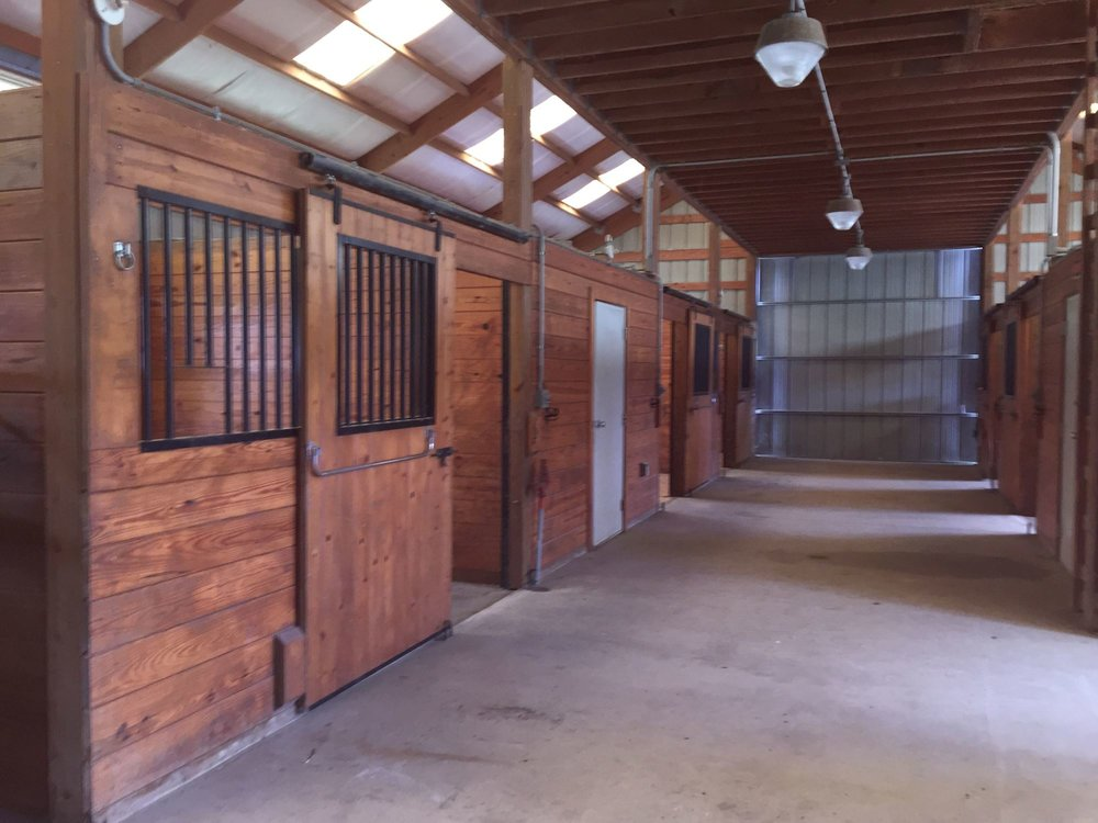 Tack Room and Wash Stall