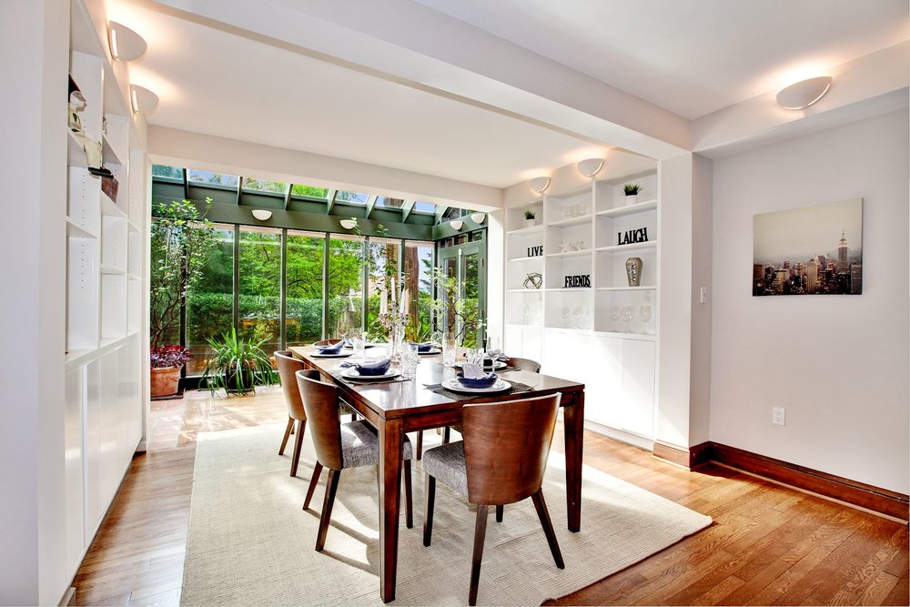 Formal Dining with Built-ins
