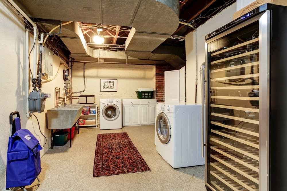 Laundry Room offers Extra Storage