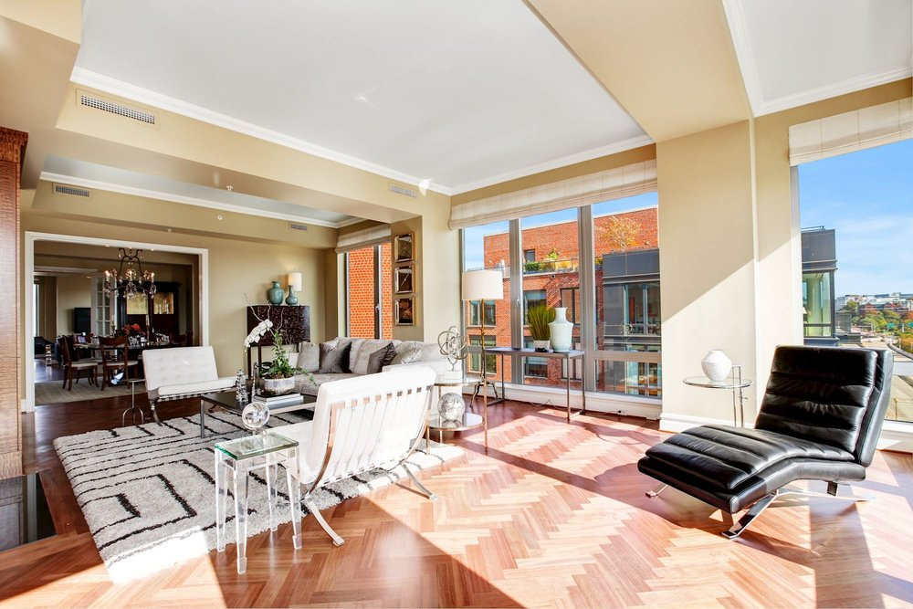 Spacious Light-Filled Formal Living Room