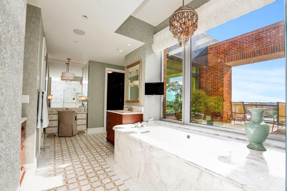 Master Bathroom with Heated Floors