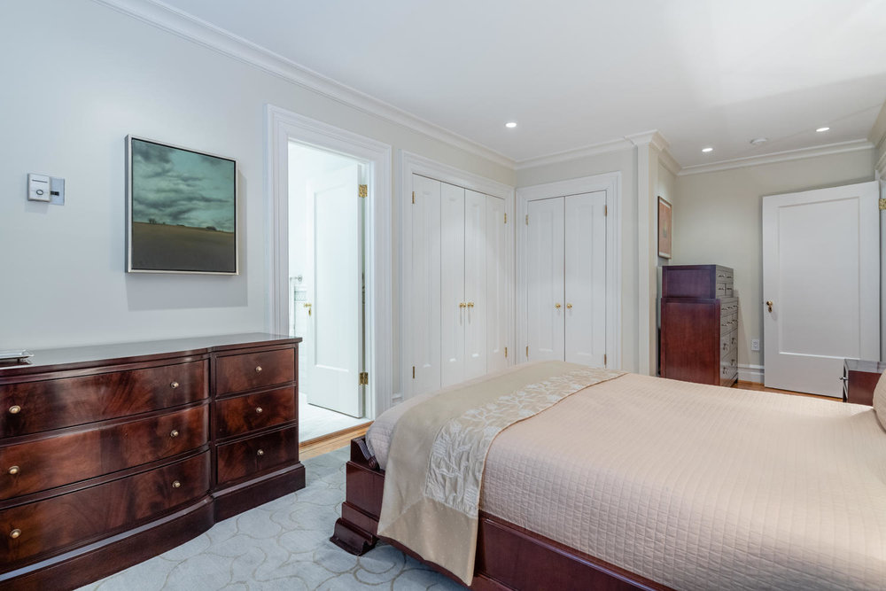 Master Bedroom with two large closets