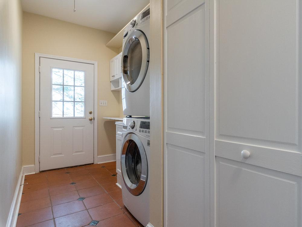 Main Level Laundry/Mud Room