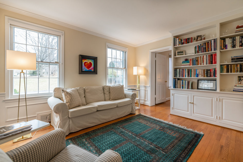 Library leads to Master Suite