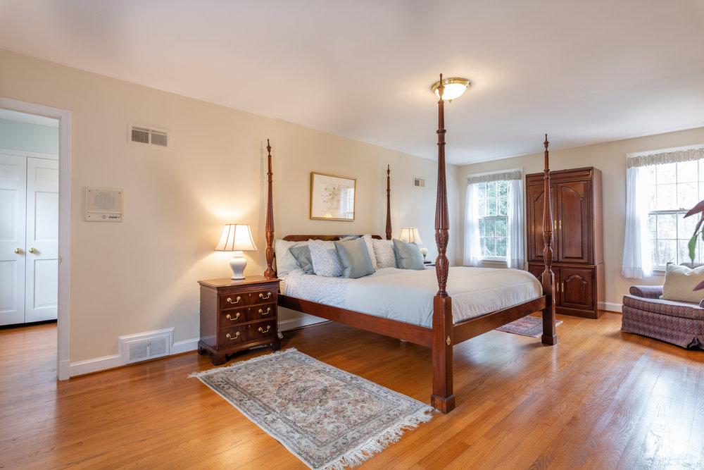 Bright, Private Master Bedroom