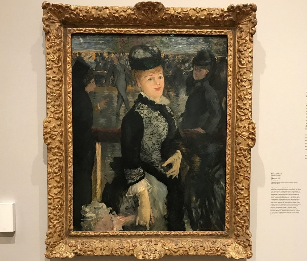 Manet at the Fogg Museum