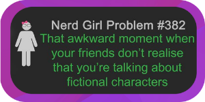 How many times has this happened to you? If you are anything like Lindsey Gray, it happens almost daily. The characters in her books and in the books she reads are friends. They are fictional people you can form a bond with and learn from. Why shouldn't you talk about them?