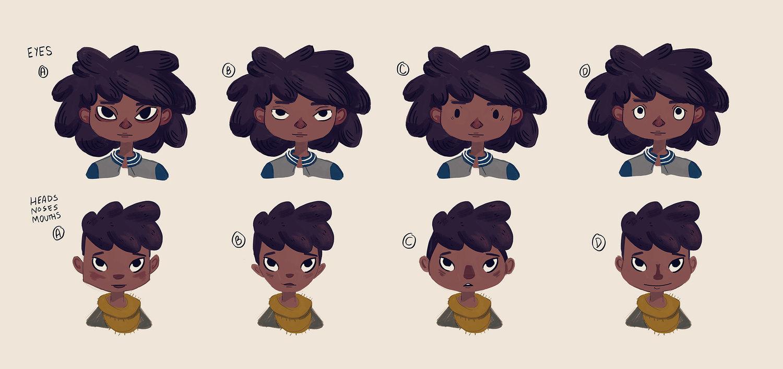 character design nan lawson