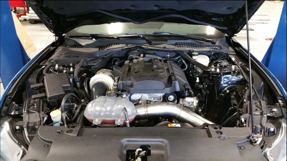 MAPerformance Turbo kit upgrade for the 2.3L Ecoboost Mustang.