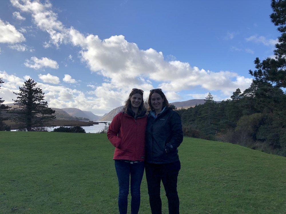 Annie & Robyn visiting gap year programs abroad