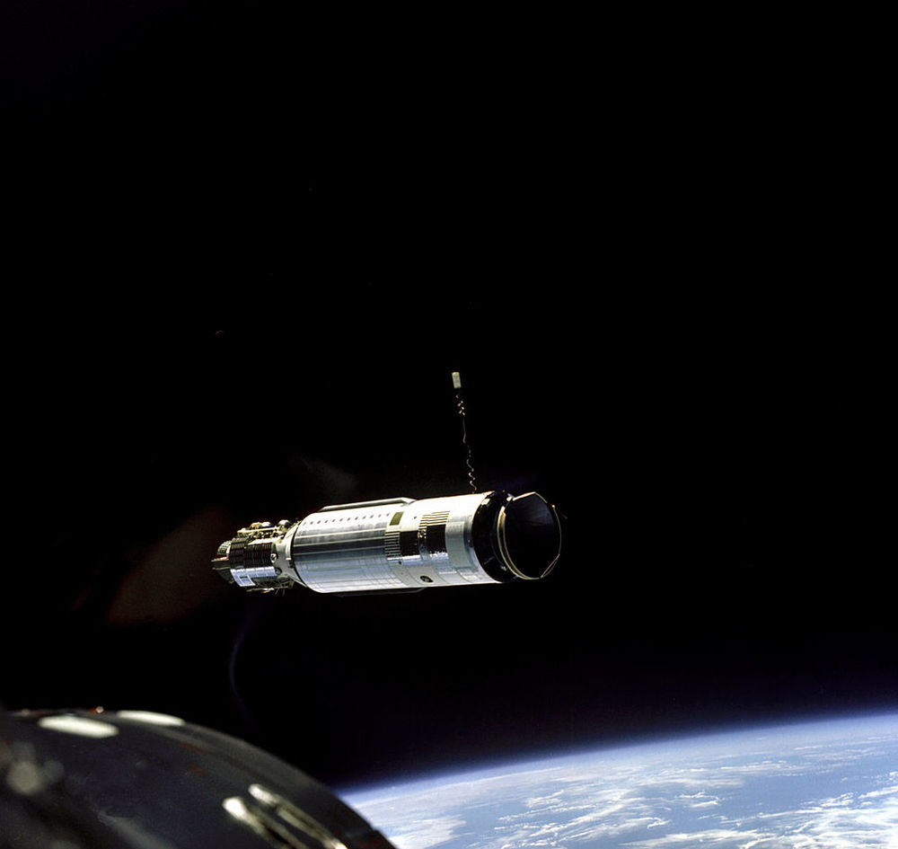 The Agena Target Vehicle as seen from Gemini VIII