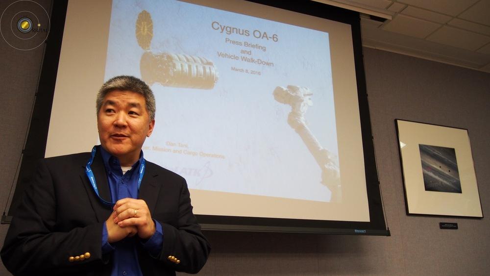 Dan Tani, Cygnus Presentation 1