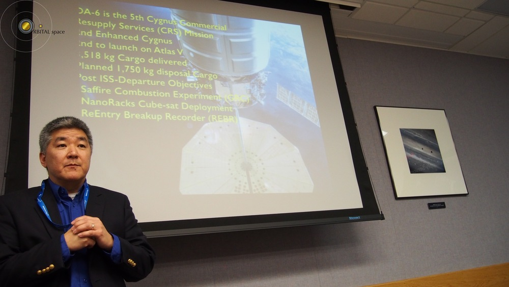 Dan Tani, Cygnus Presentation 2